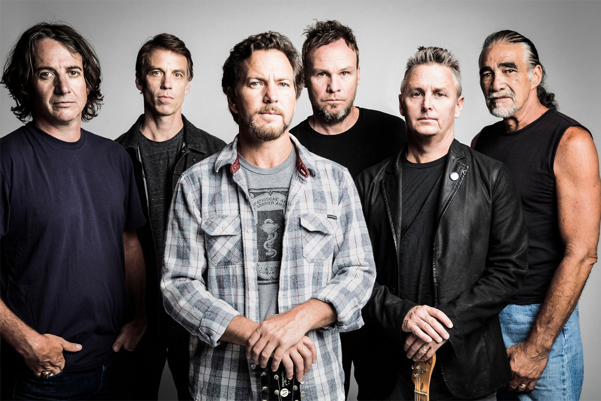 Pearl Jam, Rush y Journey interpretaron