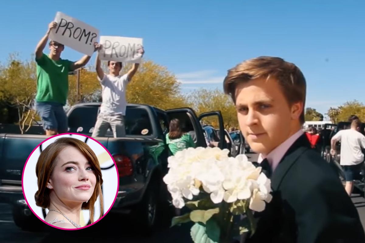 Emma Stone respondió a invitación a graduación