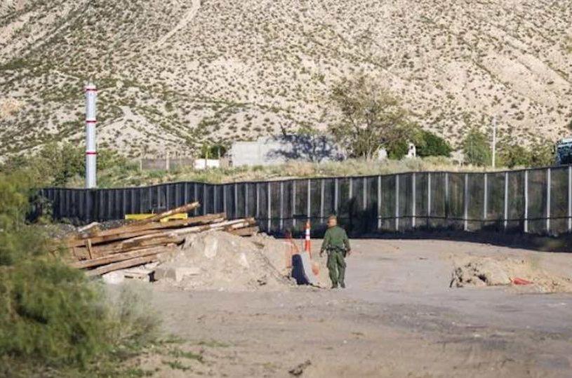 EU iniciará construcción de muro fronterizo este verano
