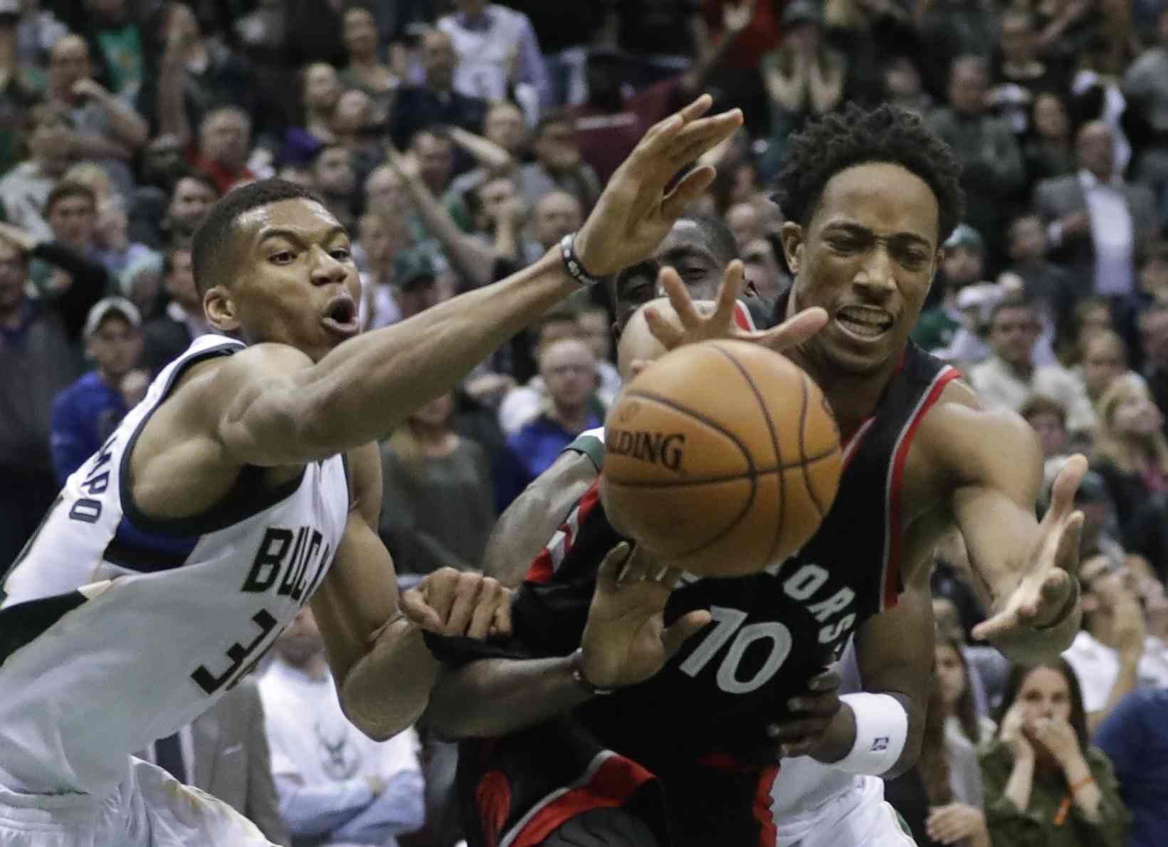 Raptors ganan serie a Bucks y avanzan en playoffs de la NBA
