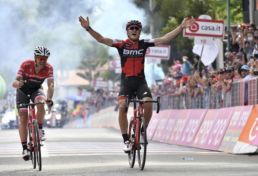 El suizo Silvan Dillier gana la sexta etapa del Giro