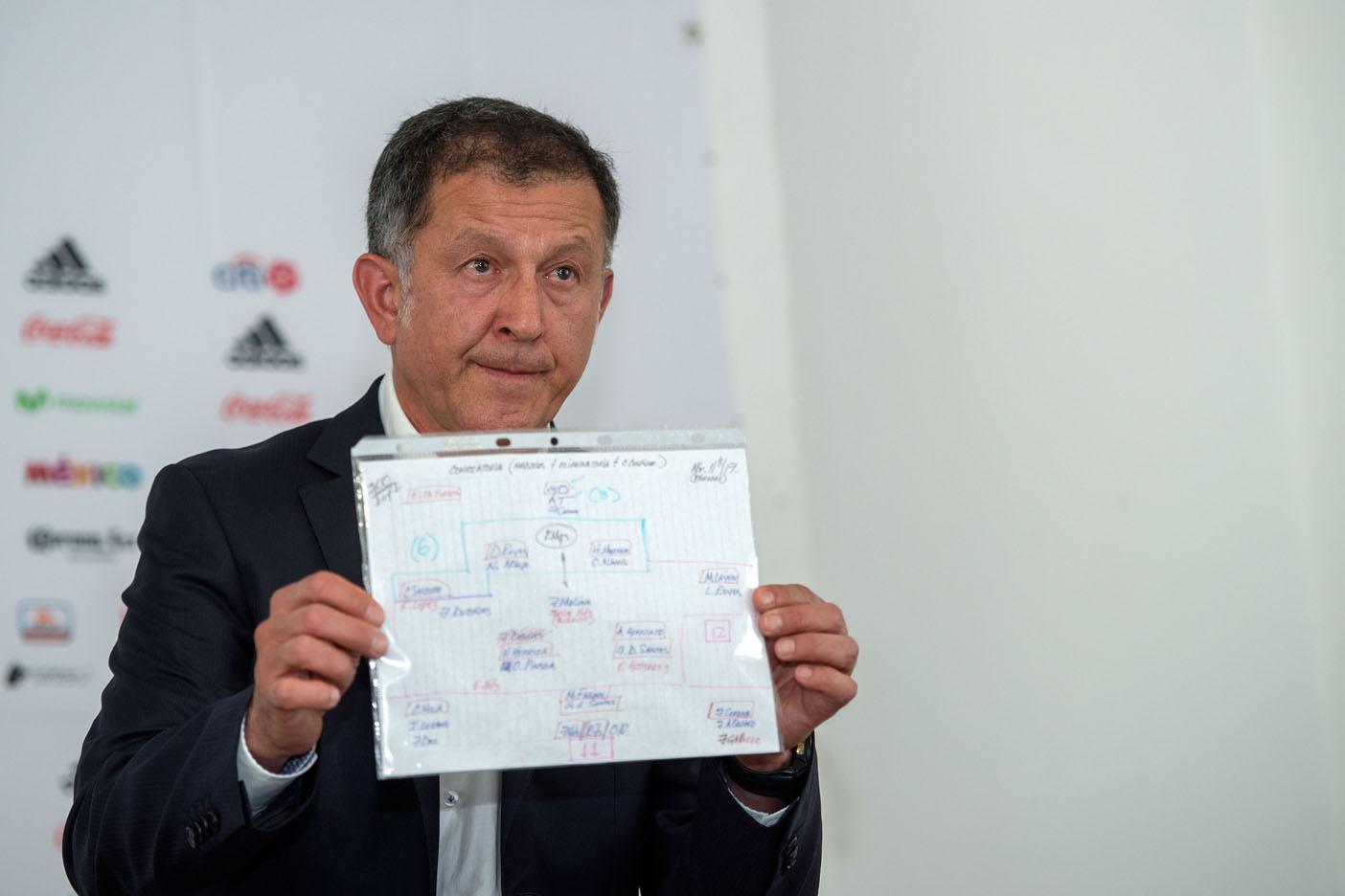 Juan Carlos Osorio sorprende al convocar a Márquez, Reyes, Hernández y Gallardo