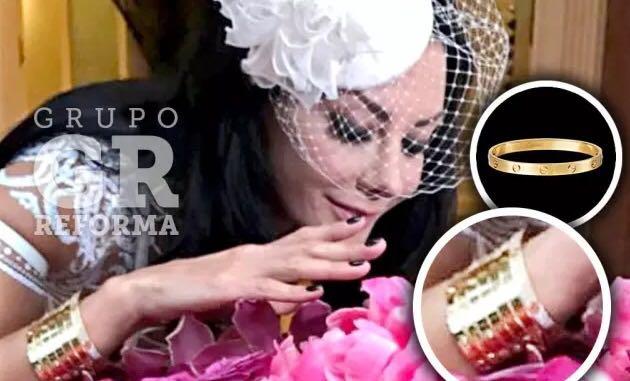 Hija de Romero Deschamps luce millonarios brazaletes