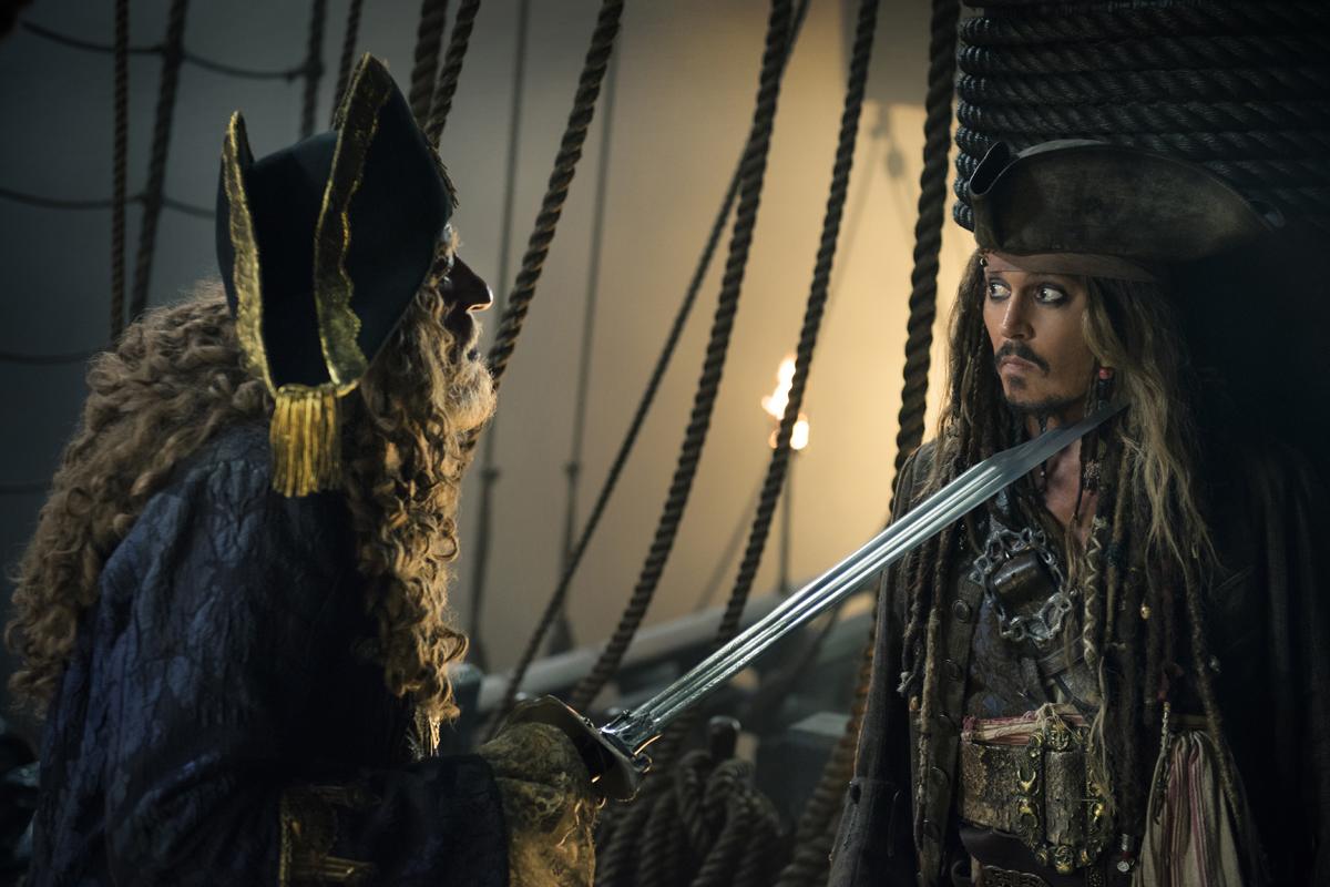 El capitán Jack Sparrow vuelve a la pantalla grande
