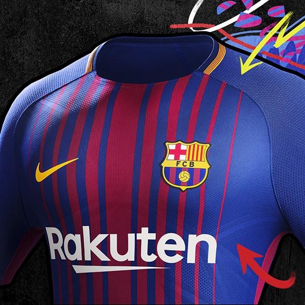 ¡Revelado! Así será la camiseta del FC Barcelona para la temporada 2017/18
