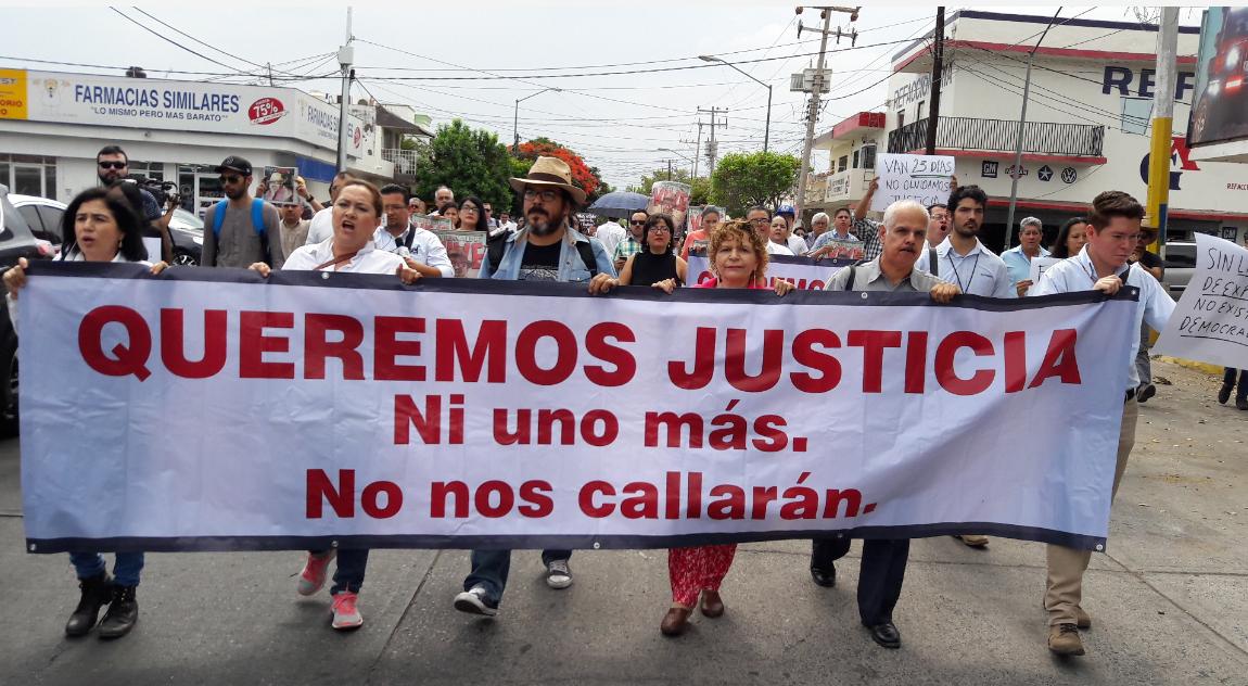 Nada que celebrar en Día de la Libertad de Expresión: Periodistas