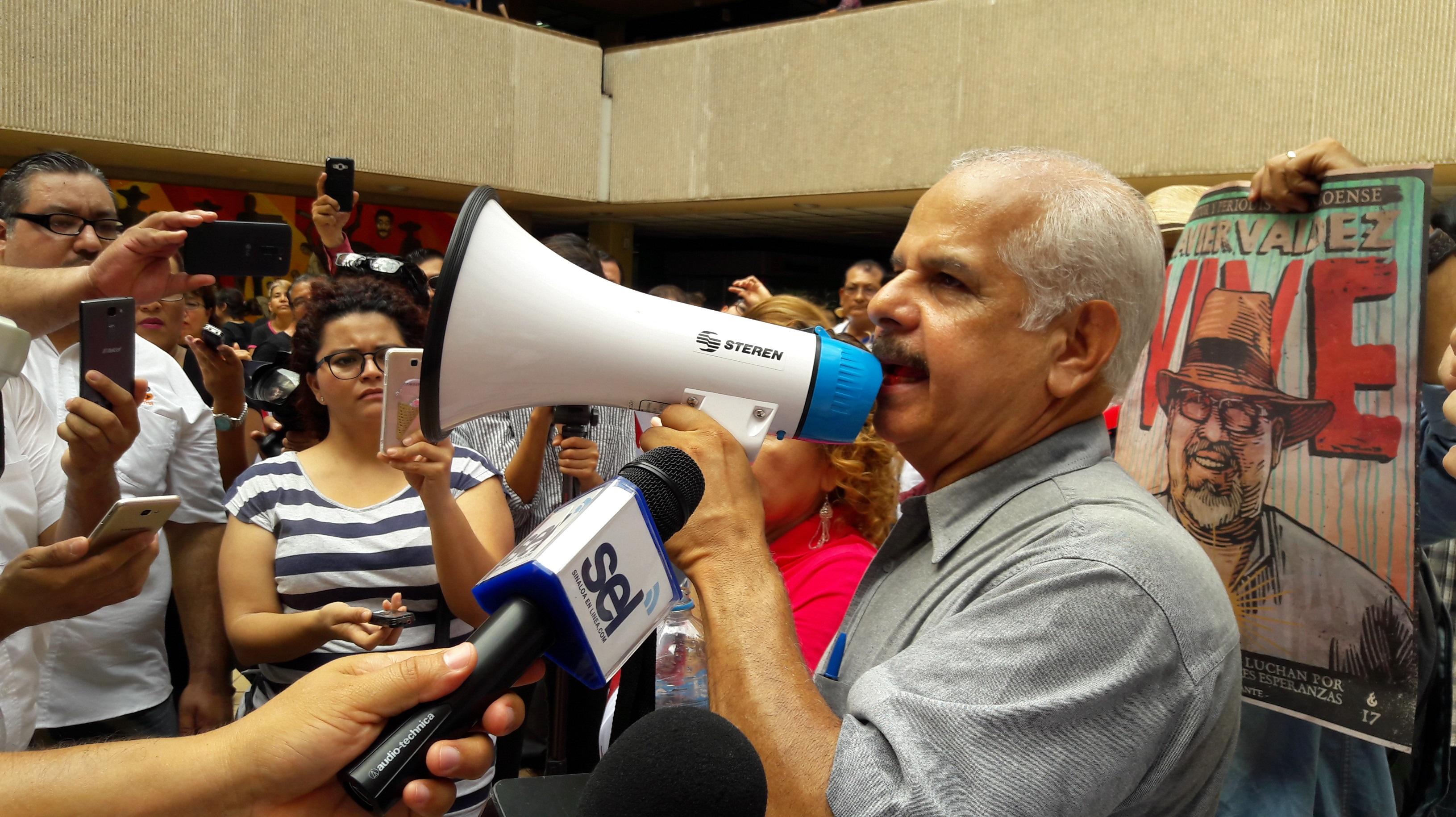Periodistas de Sinaloa exigen frenar crímenes contra la prensa en México