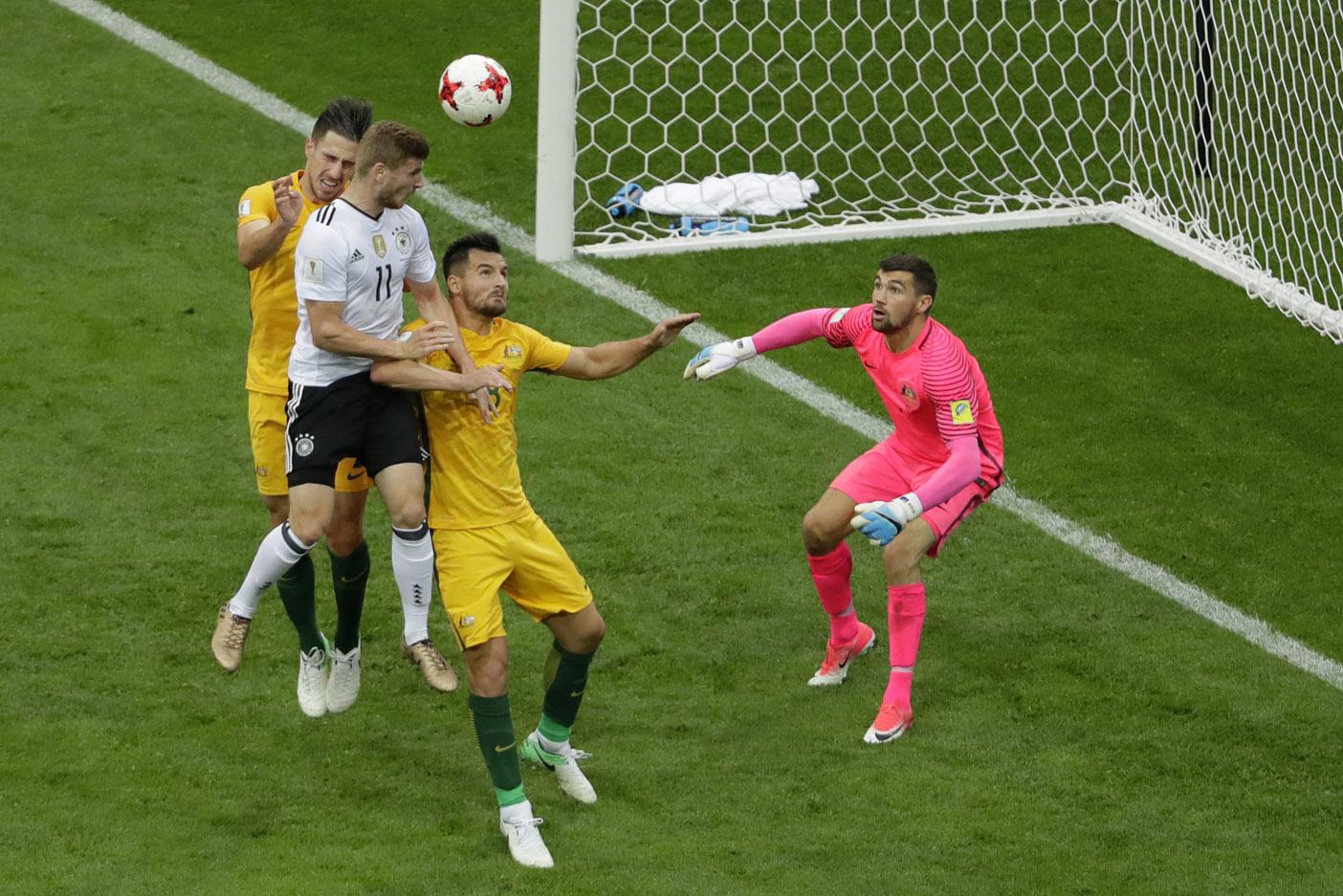 Alemania le ganó a Australia — Copa Confederaciones