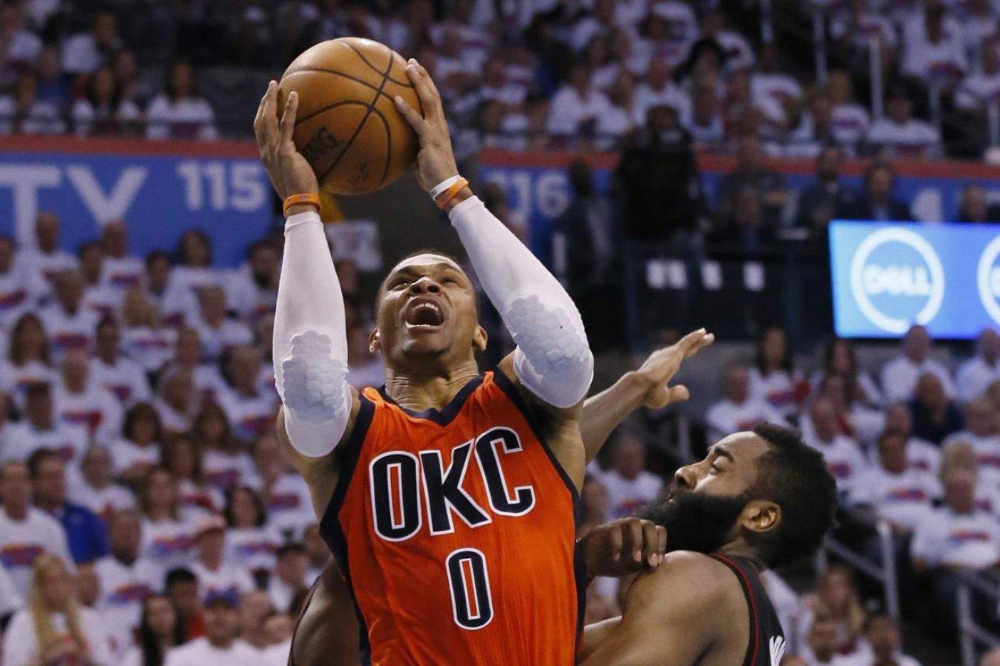 Westbrook es elegido MVP de la NBA