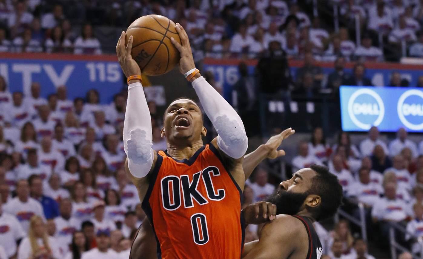 Russell Westbrook fue premiado como MVP de la NBA