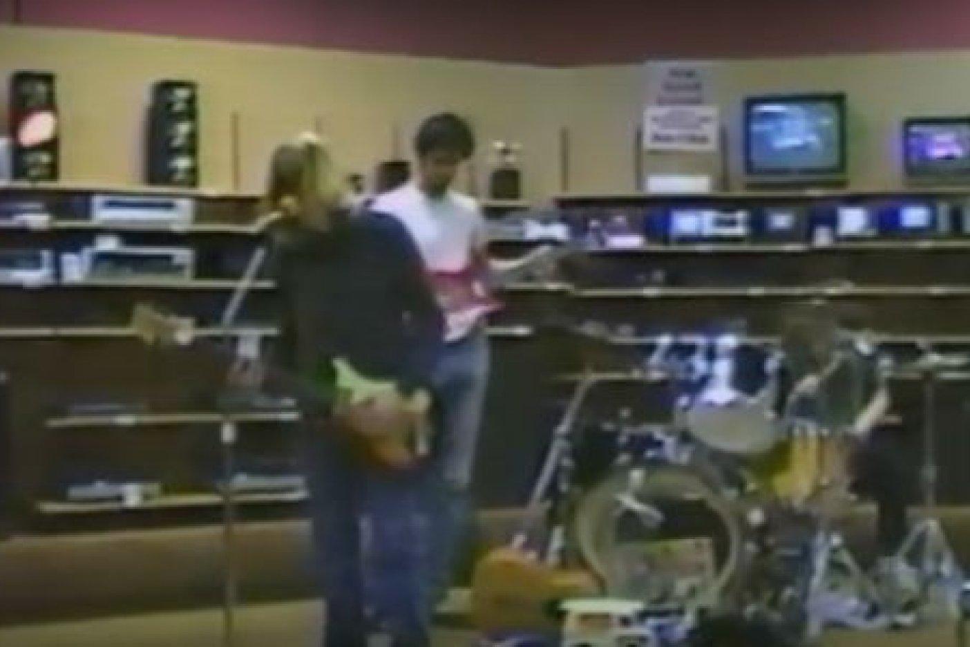 Difunden Video Inédito del Primer Demo de Nirvana