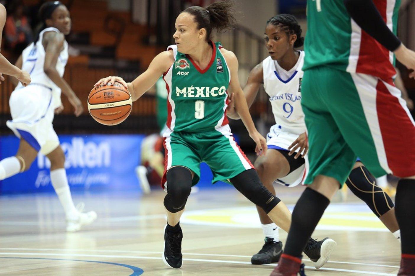 Selección femenil de básquetbol arranca con el pie derecho el Centrobasket