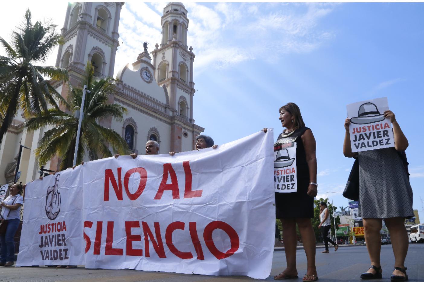 Periodistas de Culiacán inician ayuno; demandan esclarecimiento del asesinato de Javier Valdez