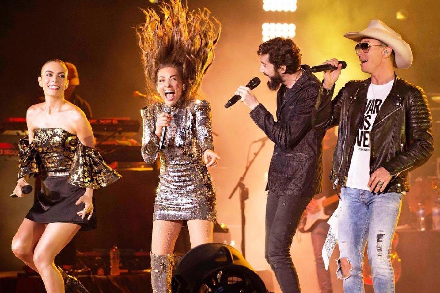 ¡Sólo en estas 2 fechas Paulina y Thalía estarán juntas con Timbiriche!