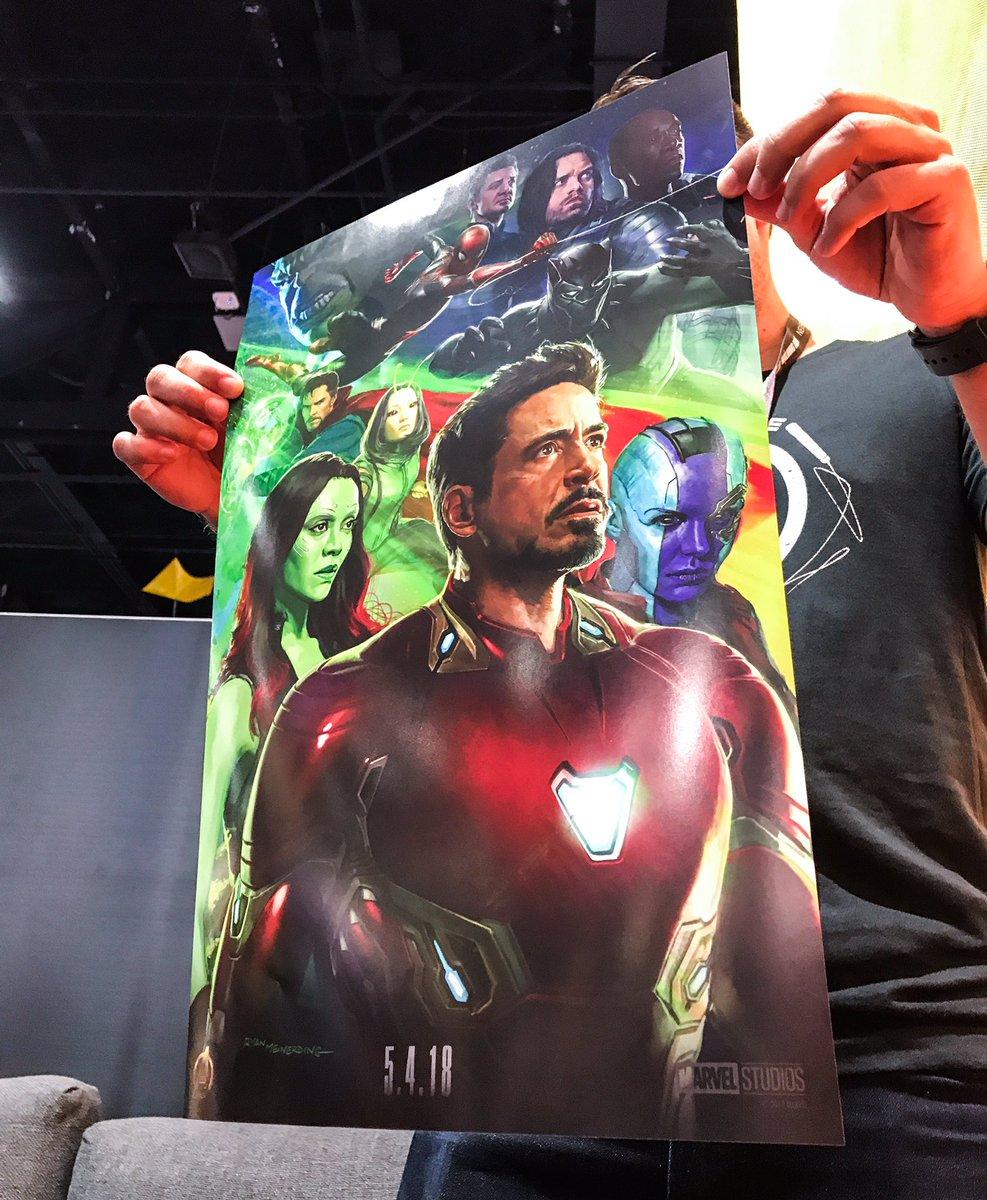 Filtran primer trailer de Avengers: Infinity War