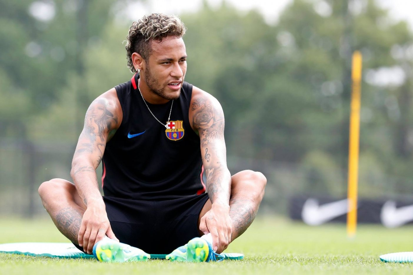 Neymar Jr. llega al PSG
