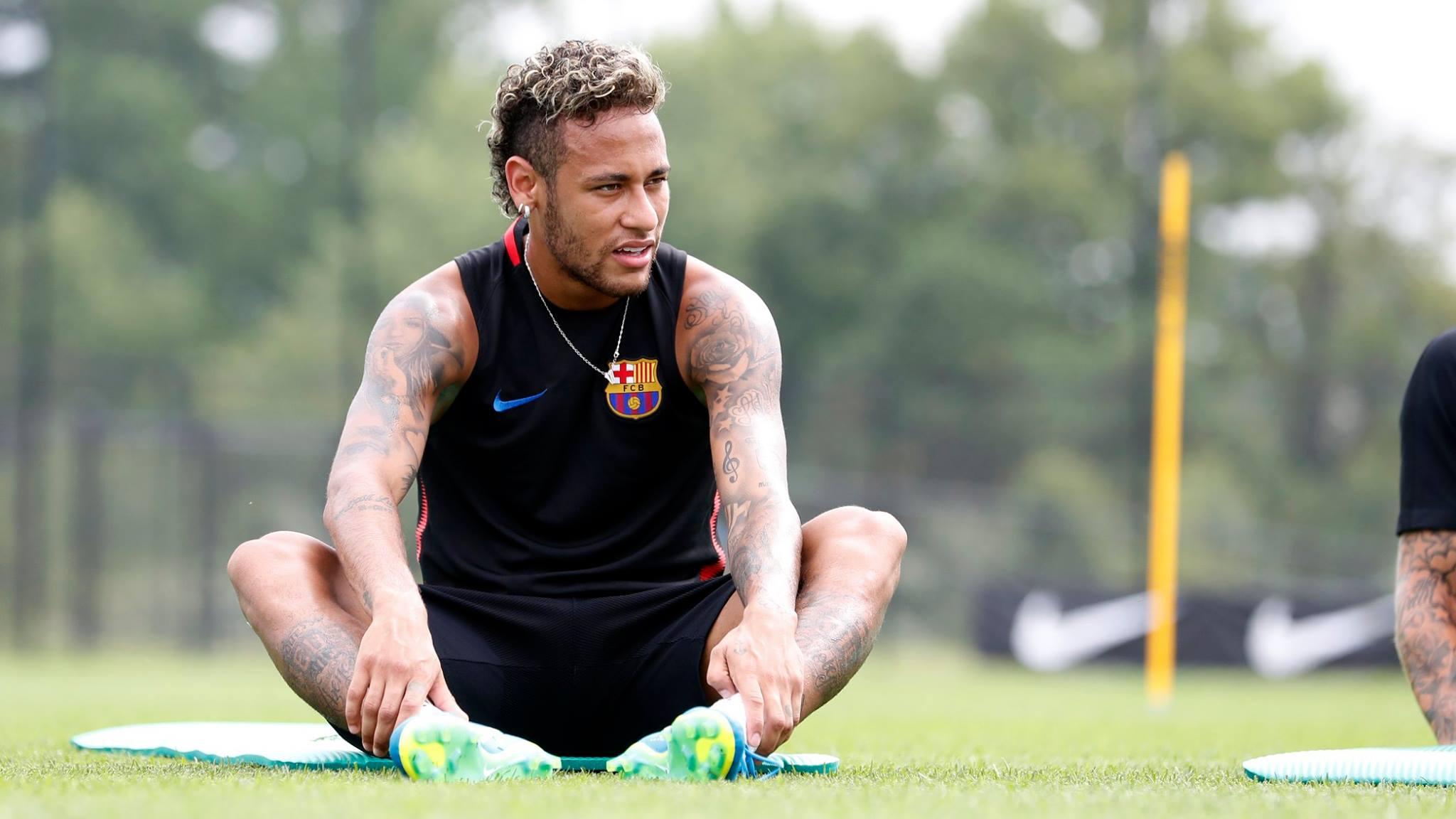 Piqué le mandó un fuerte mensaje a Neymar