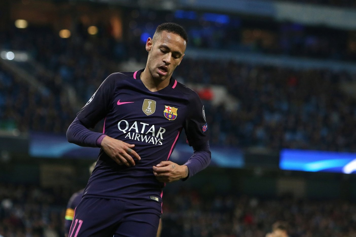 Messi se despide de Neymar: