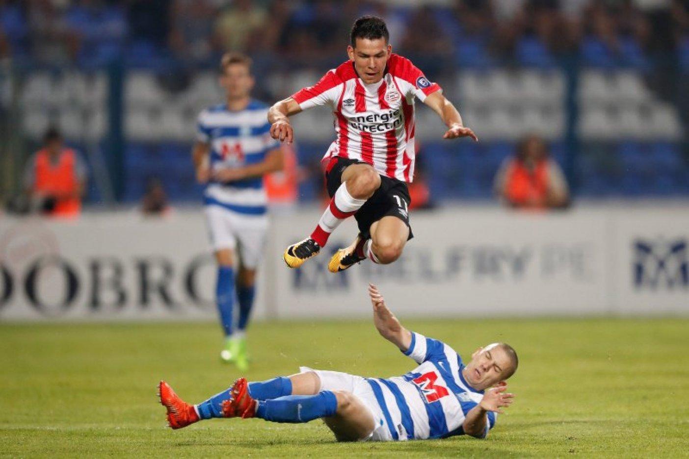Lozano y el PSV se quedan sin Europa League