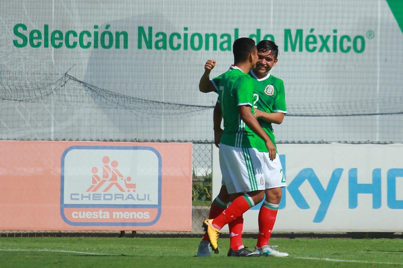 Goleada de la Sub-17 en el Torneo 4 Naciones en México