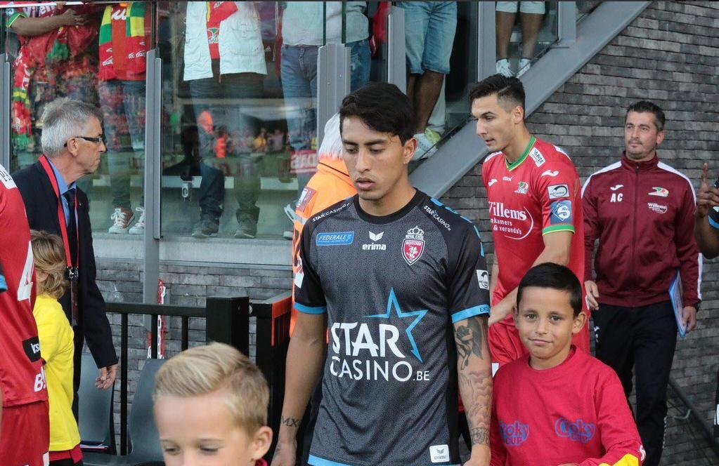 Omar Govea se estrena como goleador en Liga de Bélgica