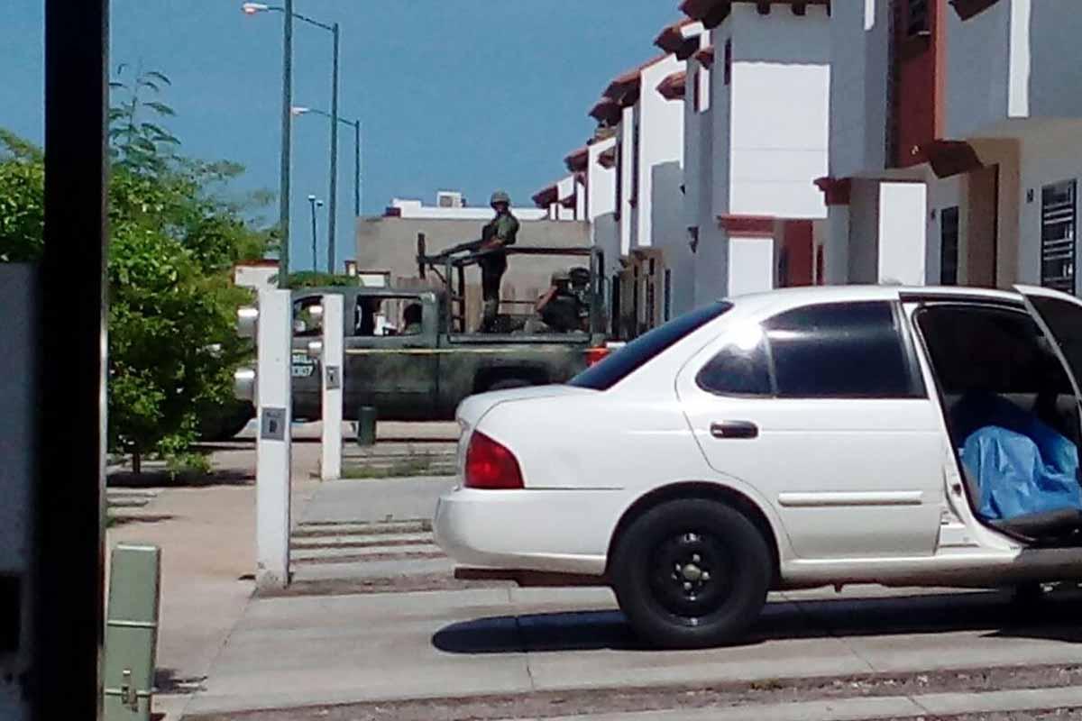 Asesinan a vecino del fraccionamiento Monte Real en Culiacán