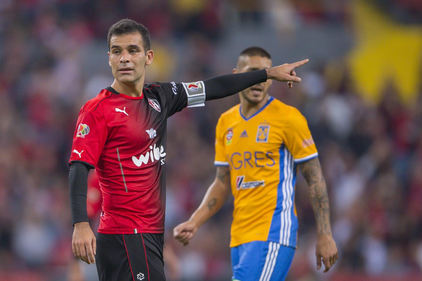 Rafael Márquez volvió a ausentarse de los entrenamientos del Atlas