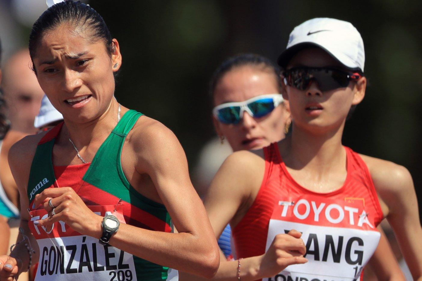 ¡Plata para México! Lupita González gana medalla en Mundial de Atletismo