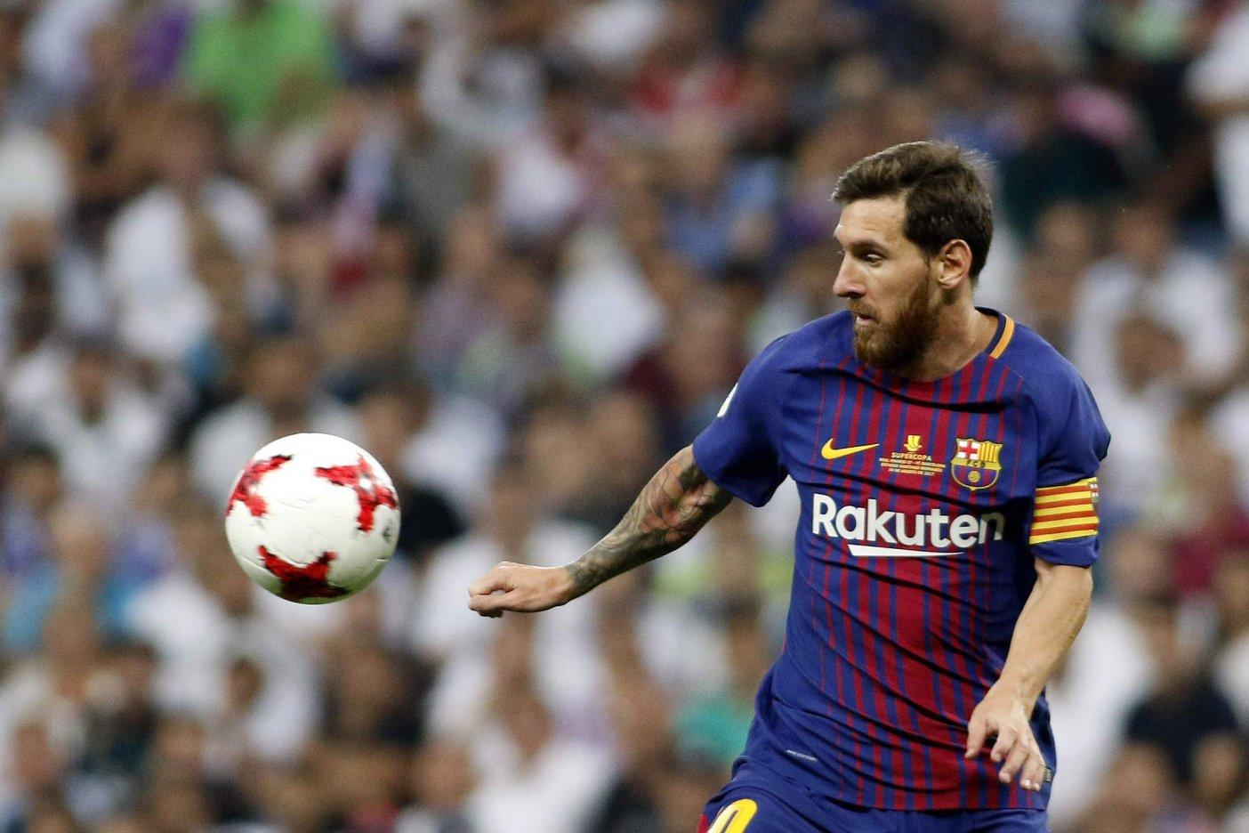 Lionel Messi insultó a Sergio Ramos por no darle la pelota