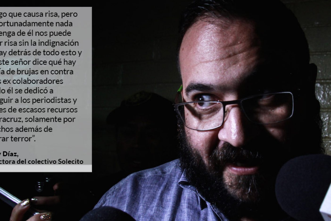 Quinto día: Javier Duarte mantiene su huelga de hambre