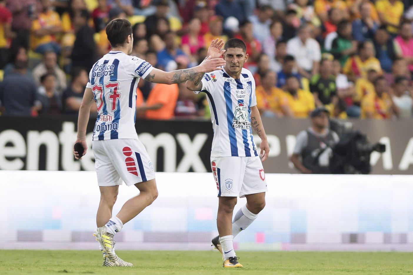 Pachuca vence a Veracruz 4-1 en estreno de Honda
