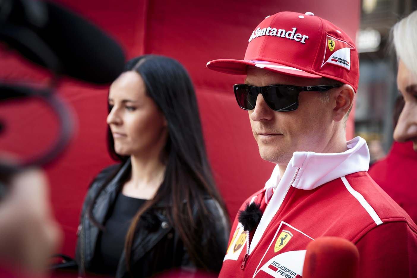 Fórmula 1: Kimi Raikkonen renovó con Ferrari