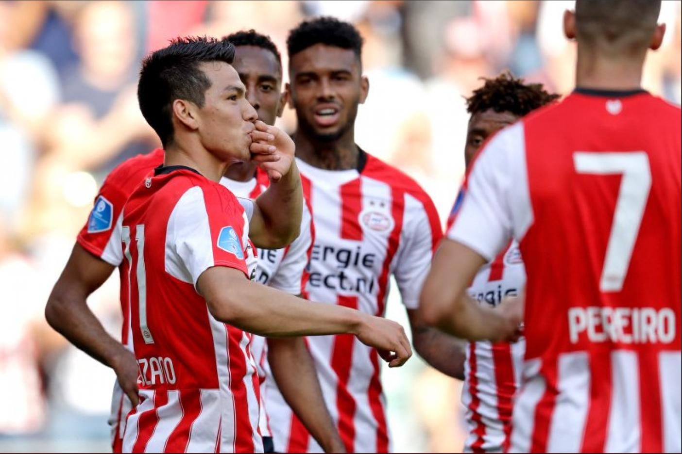 Chucky Lozano anota con PSV e impone nuevo récord