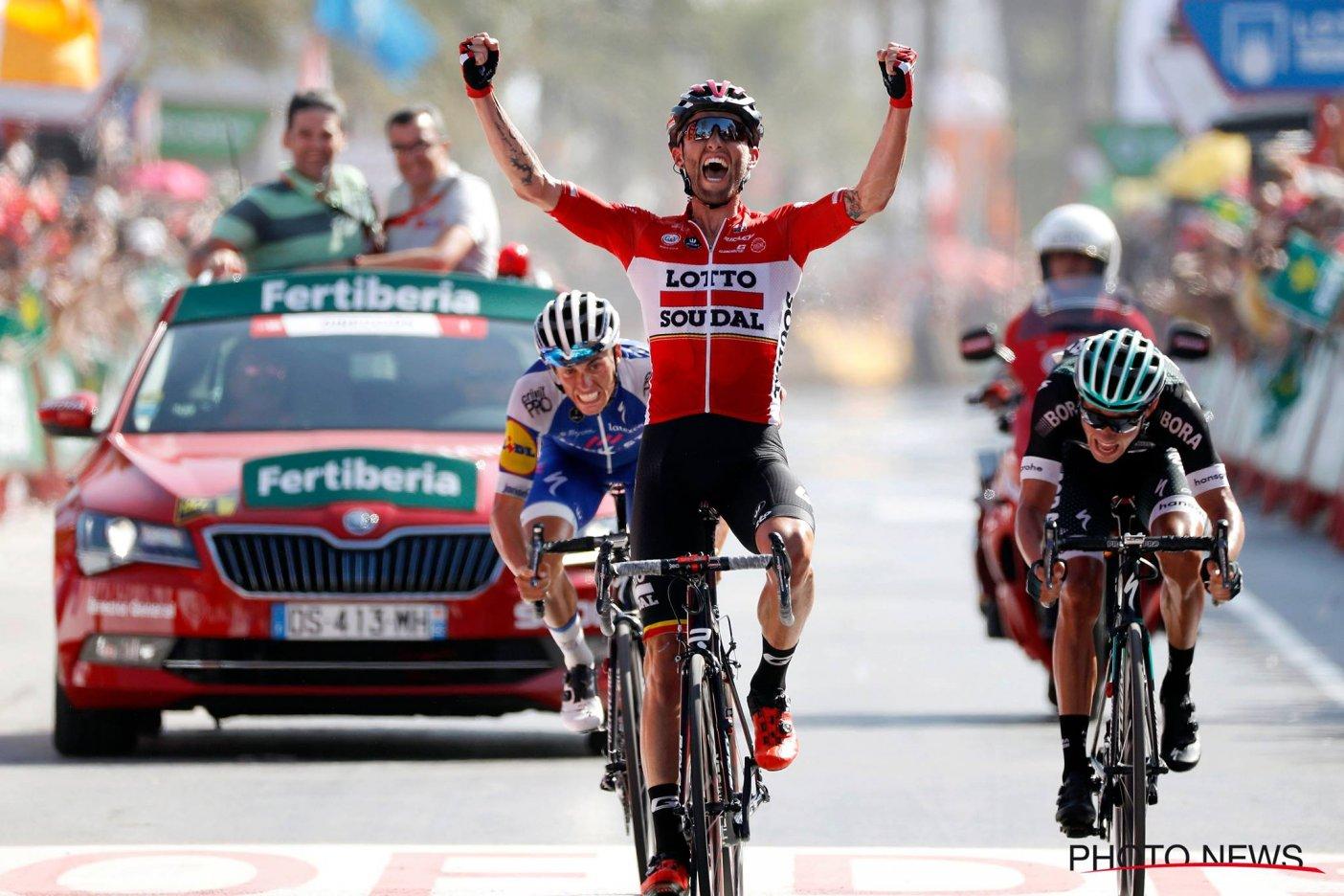 Rafal Majka ganador de la etapa 14 — Vuelta a España