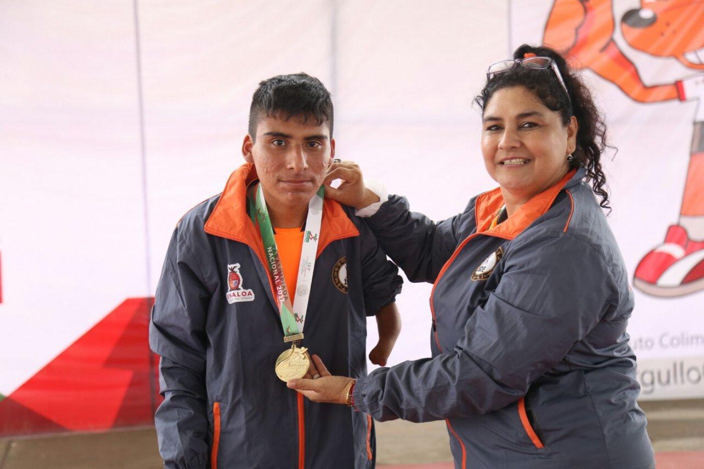 Día dorado para Tlaxcala en la Paralimpiada Nacional