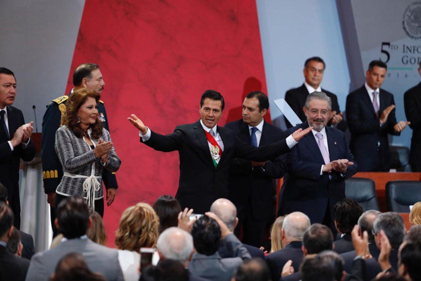 Peña llama a mantener la ruta de la renovación en 2018