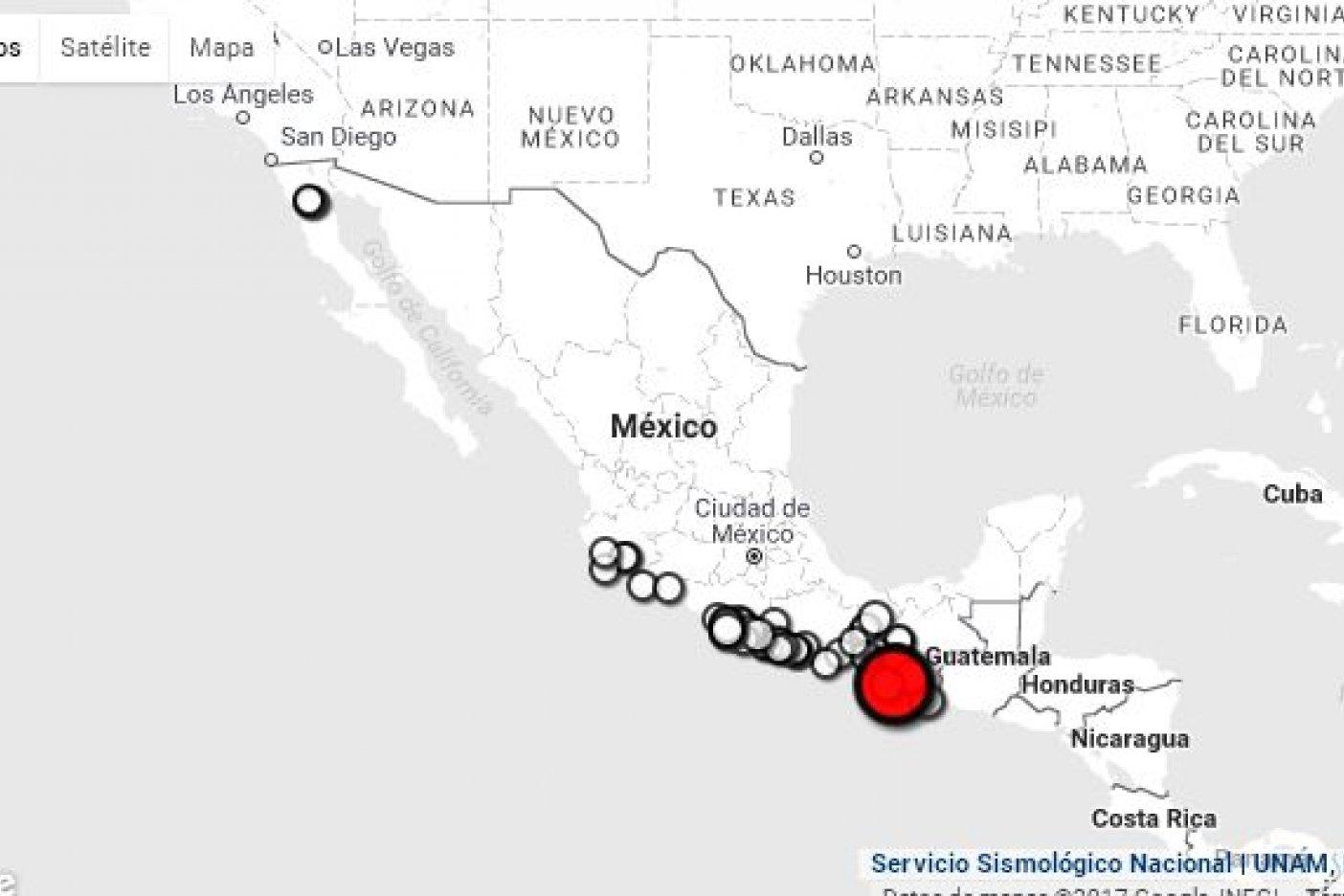 Desalojan costa de Chiapas por alerta de tsunami