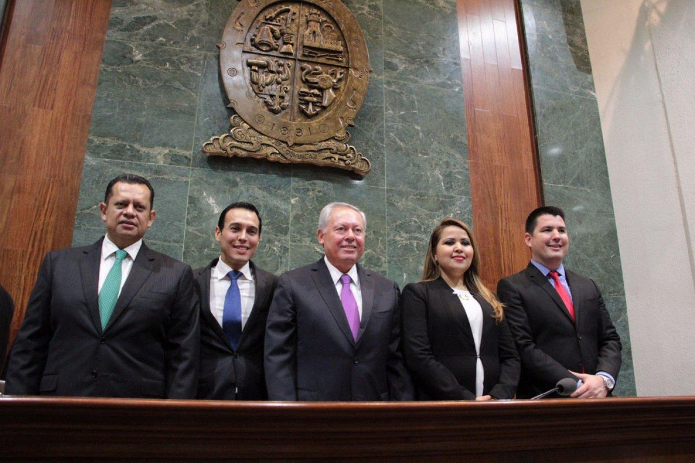Eligen nueva mesa directiva del Congreso de Sinaloa