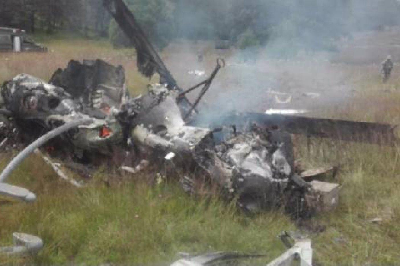 Cae helicóptero militar en norte de México, habría siete muertos