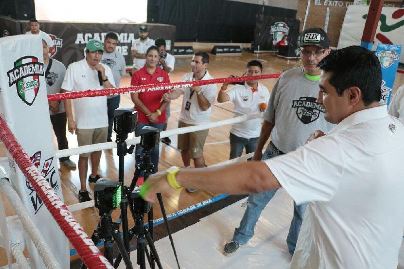Segunda etapa de pruebas de la Academia de box Conade
