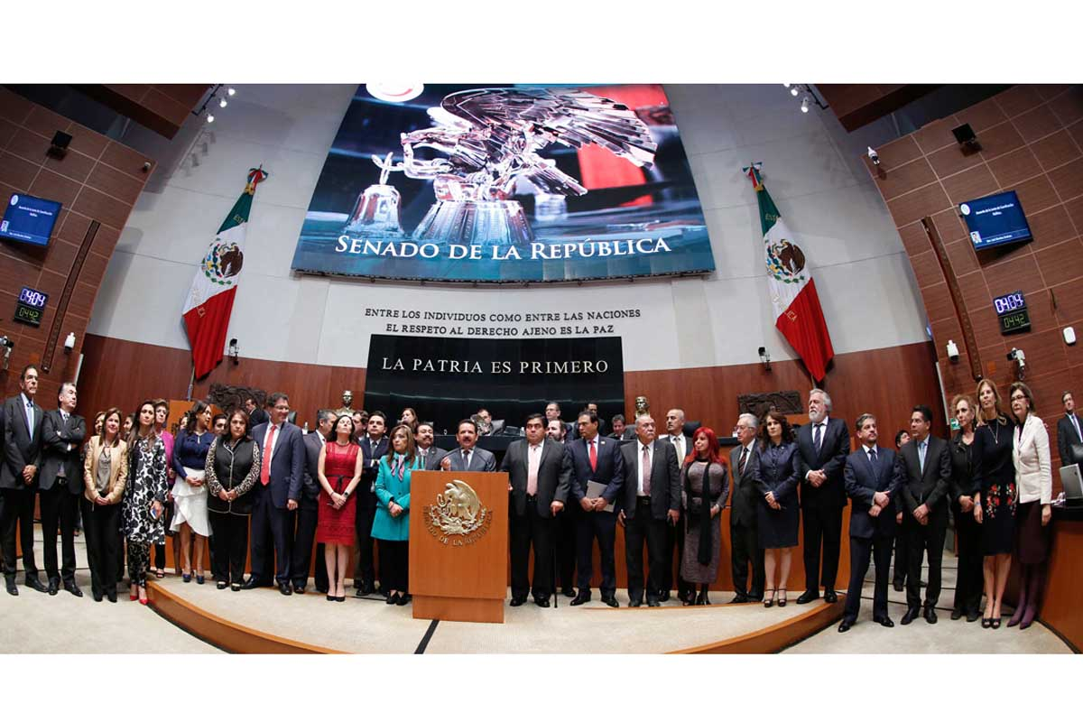 Con voto secreto, Senado definirá mañana situación de Nieto