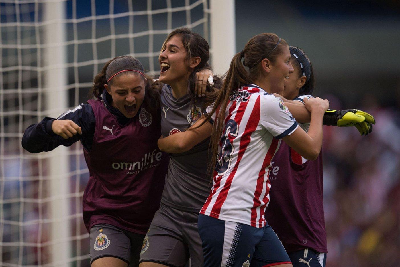 Pachuca pegó primero y acaricia el título de la Liga Femenil
