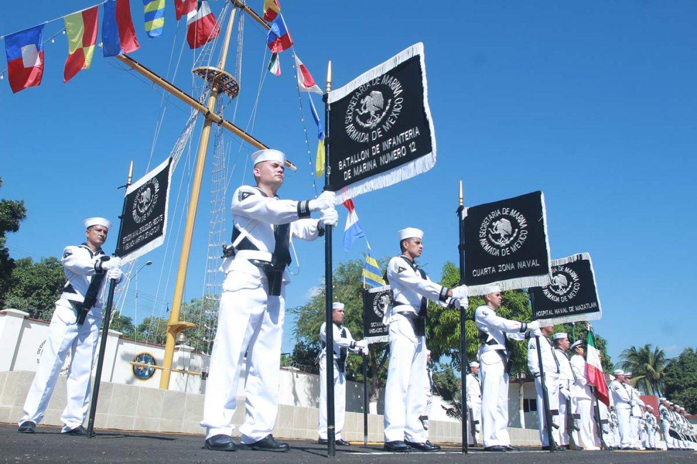 La Semar conmemoró el Día de la Armada de México