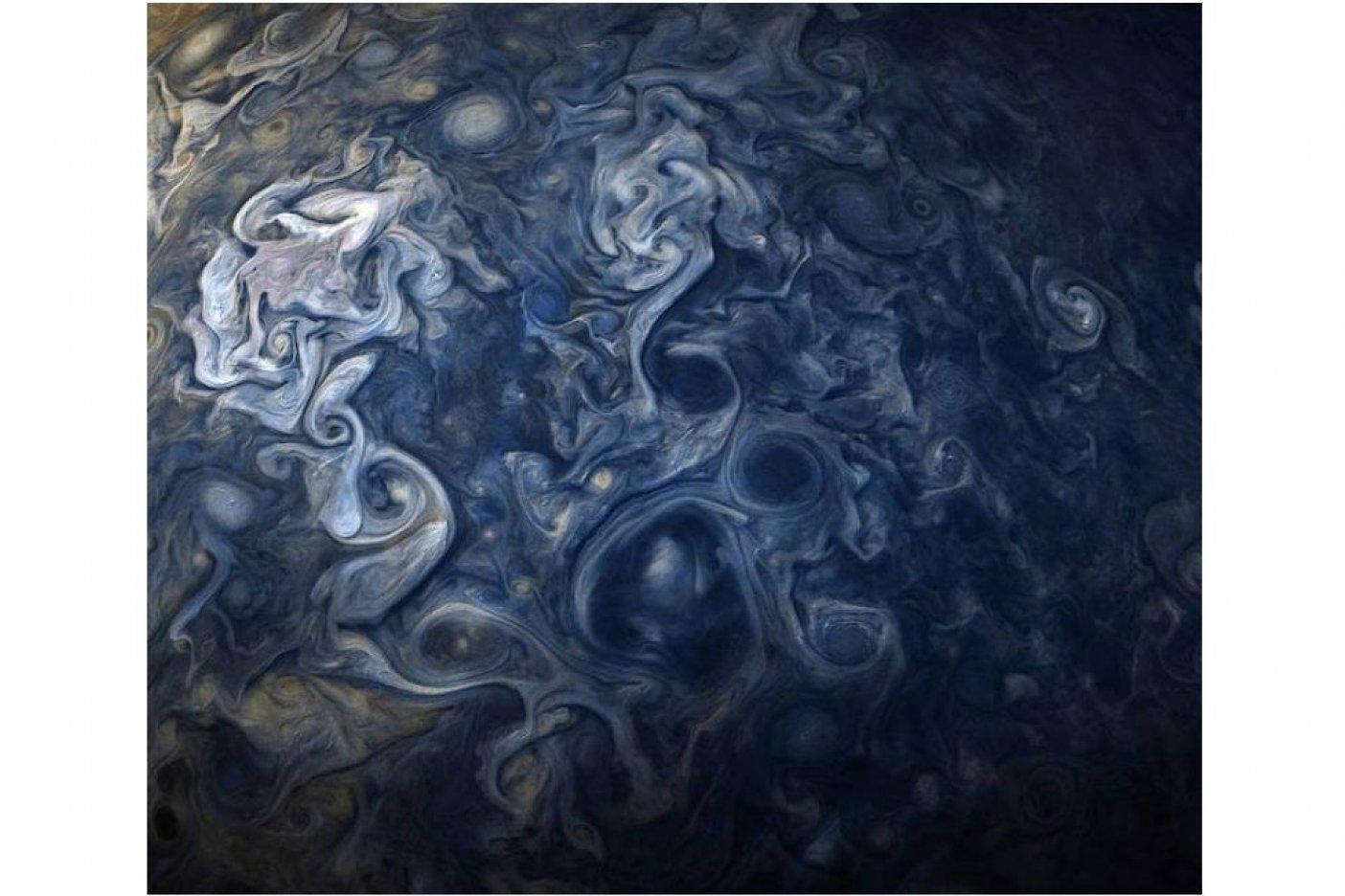 'Viraliza' la NASA una foto de Júpiter