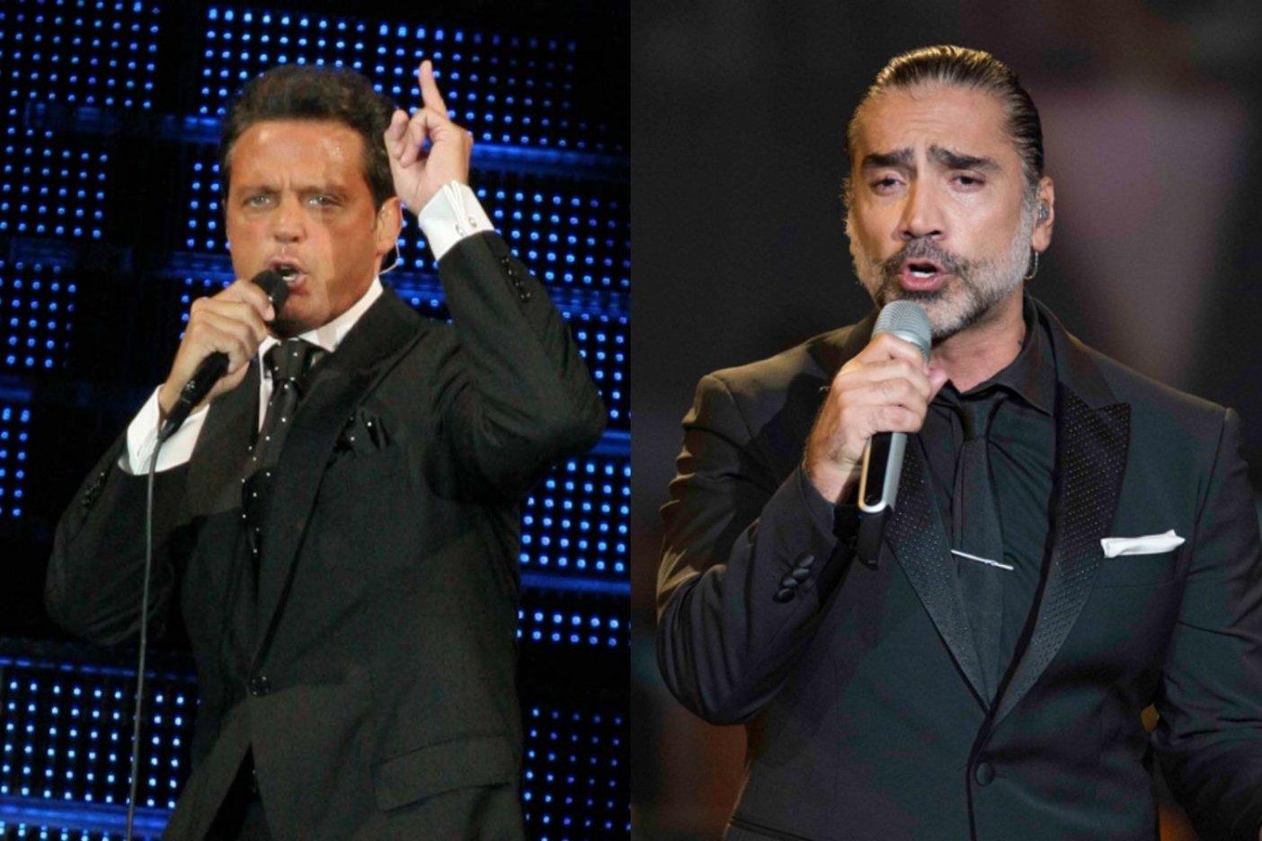 Alejandro Fernández y Luis Miguel logran concretar acuerdo