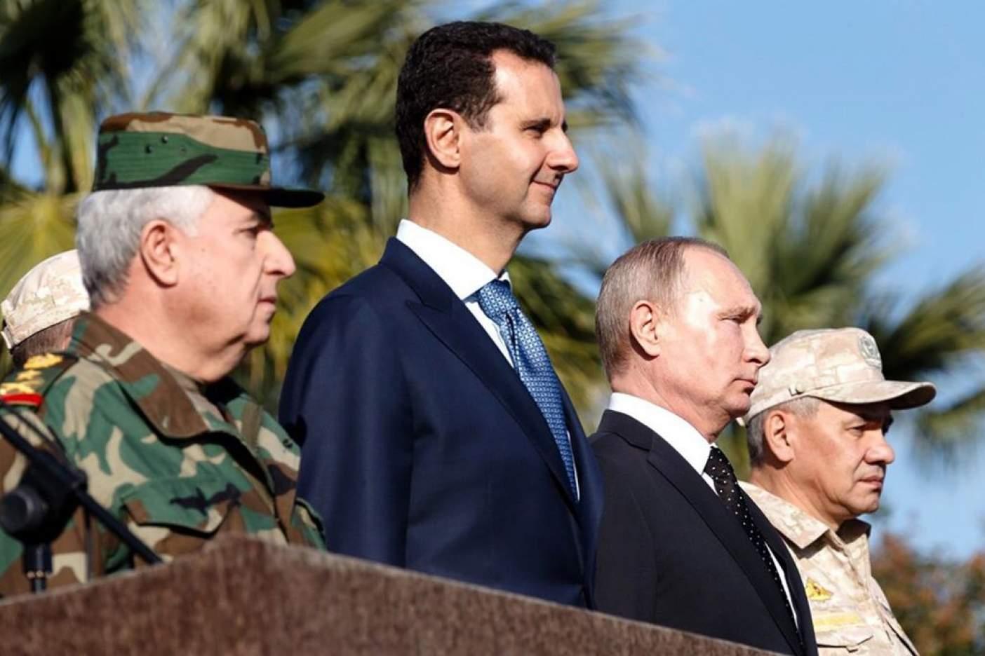 Tropas rusas se retiran de Siria por orden de Putin