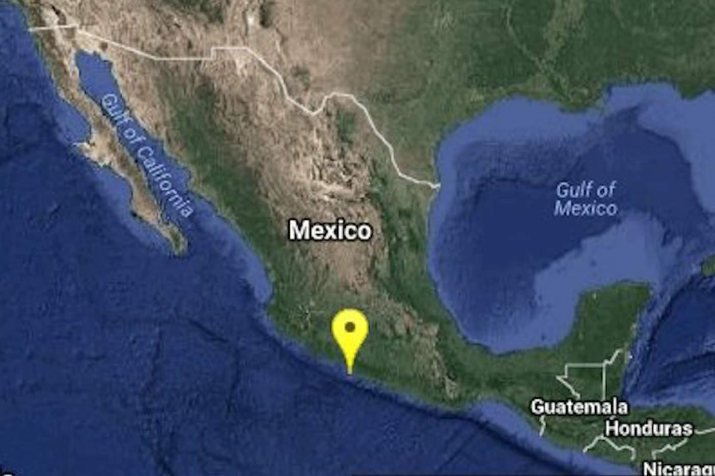 Se registró sismo de 5.0 grados