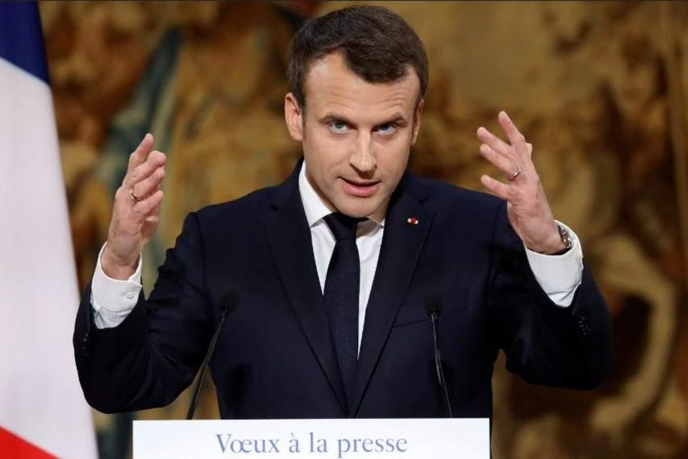 Anuncia Macron ley para combatir noticias falsas en periodo electoral
