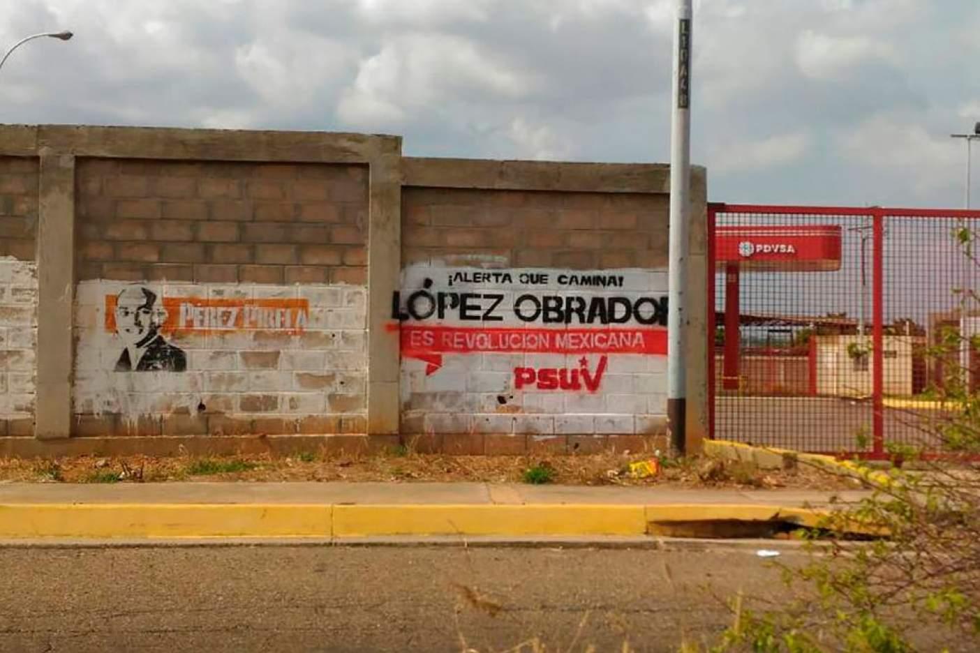 Bardas pintadas en Venezuela son por