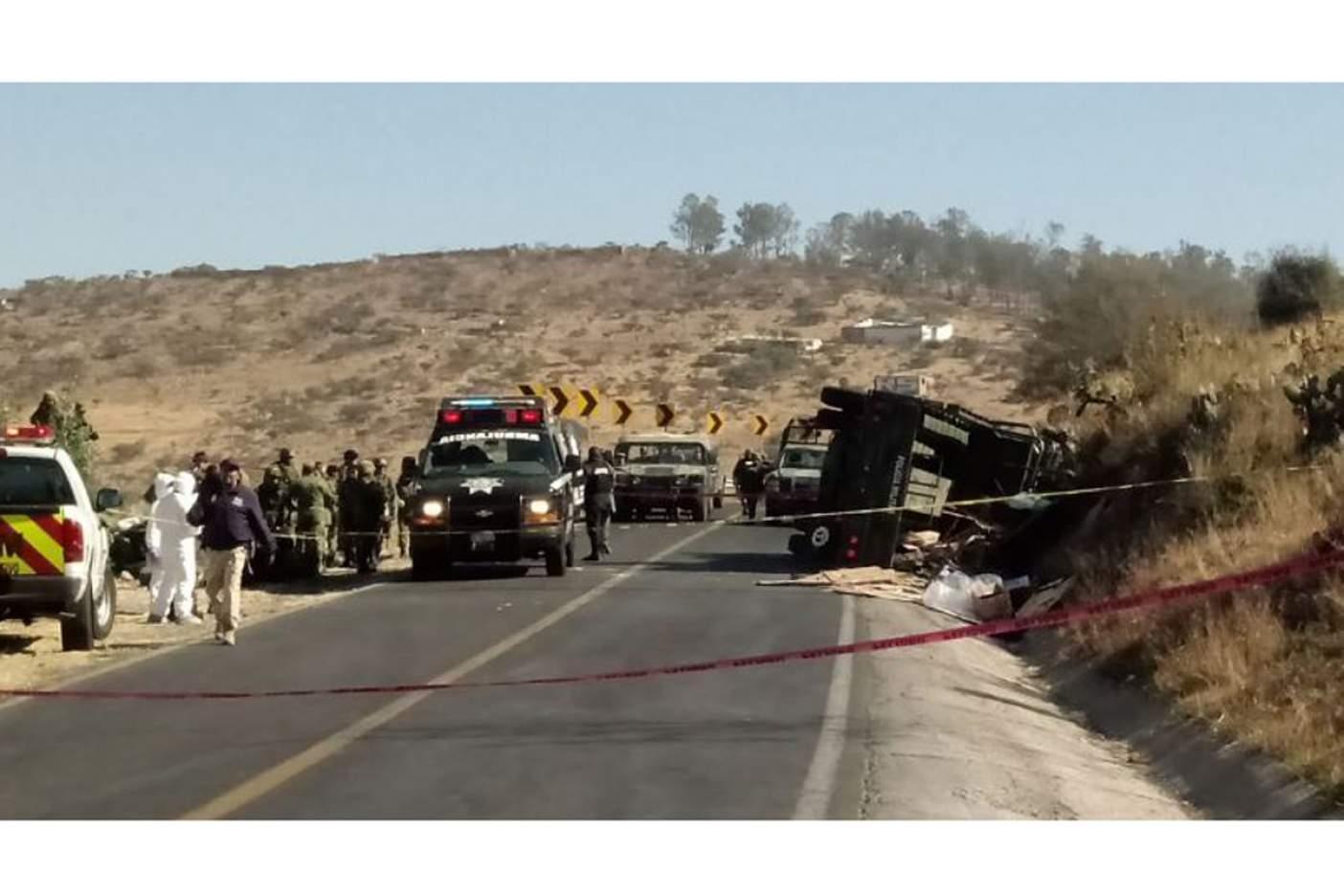 Un militar muerto y 24 lesionados en volcadura salida Mil Cumbres